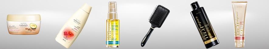 Comprar productos para el cabello de Avon: champús, acondicionadores,