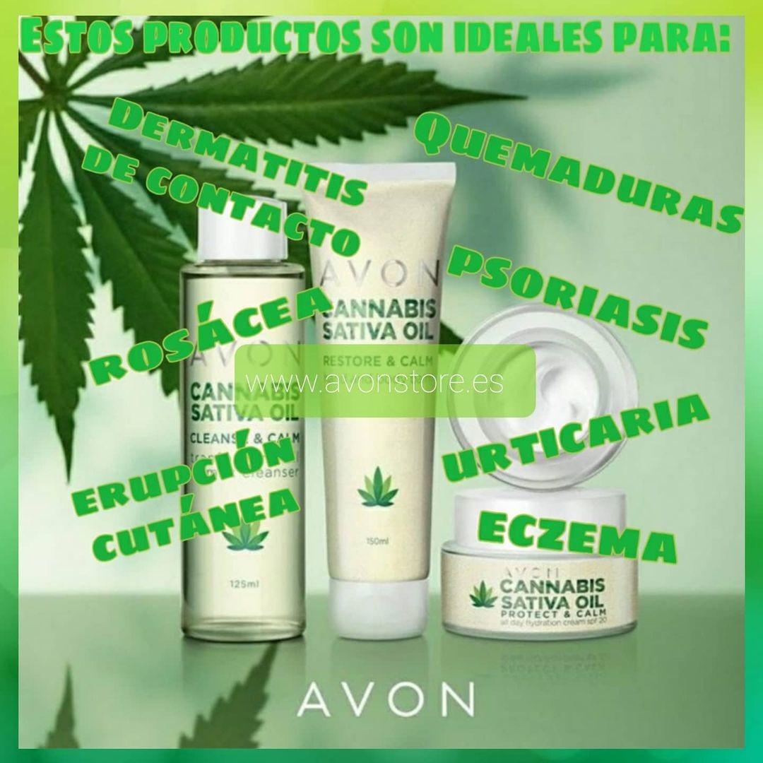 Línea vegana Cannabis Sativa con aceite de Cannabis