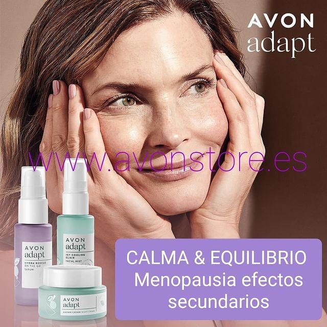 Te presentamos Avon Adapt , primera línea de cuidado facial para la menopausia.
